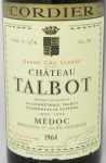1964年 シャトー タルボ CHATEAU TALBOT