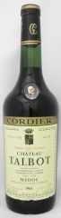1964年 シャトー タルボ(赤ワイン)