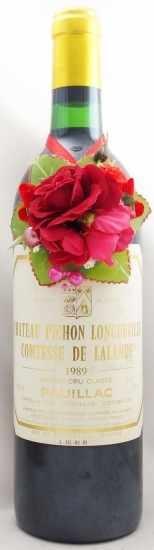 1989年 シャトー ピション ロングヴィル コンテス ド ラランド CHATEAU PICHON LONGUEVILLE COMTESSE DE LALANDE