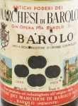 1961年 マルケージ ディ バローロ MARCHESI DI BAROLO  MARCHESI DI BAROLO
