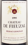 1995年 シャトー ド フューザル ルージュ CHATEAU FIEUZAL ROUGE