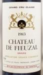 1983年 シャトー ド フューザル CHATEAU DE FIEUZAL