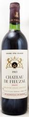 1983年 シャトー ド フューザル(赤ワイン)