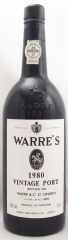 1980年 ワレ ヴィンテージ ポート(赤ワイン)