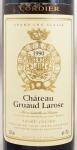 1990年 シャトー グリュオ ラローズ CHATEAU GRUAUD LAROSE
