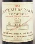 1990年 シャトー ド サル CHATEAU DE SALES