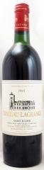 1985年 シャトー ラグランジュ(赤ワイン)