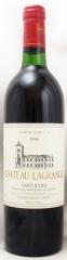 1986年 シャトー ラグランジュ(赤ワイン)