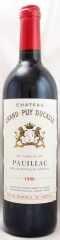 1996年 シャトー グラン ピュイ デュカス(赤ワイン)