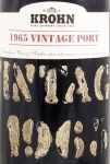 1965年 クローン ヴィンテージ ポート KROHN VINTAGE PORT WIESE & KROHN