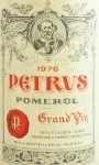 1976年 シャトー ペトリュス CHATEAU PETRUS