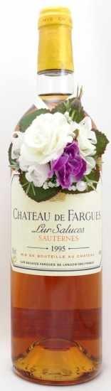 1995年 シャトー ド ファルグ CHATEAU DE FARGUES