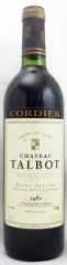 1982年 シャトー タルボ(赤ワイン)