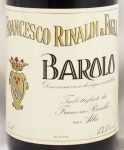 1974年 バローロ BAROLO FRANCESCO RINALDI