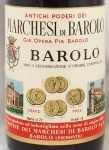 1973年 マルケージ ディ バローロ MARCHESI DI BAROLO  MARCHESI DI BAROLO