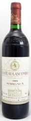 1986年 シャトー ラスコンブ(赤ワイン)