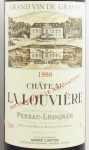1998年 シャトー ラ ルーヴィエール ルージュ CHATEAU LA LOUVIERE ROUGE