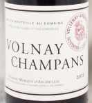 2011年 ヴォルネイ シャンパン VOLNAY CHAMPANS DOMAINE MARQUIS D'ANGERVILLE