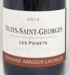 2013年 ニュイ サン ジョルジュ レ ポワゼ NUITS SAINT GEORGES LES POISETS DOMAINE ARNOUX LACHAUX