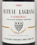 1989年 シャトー ラグランジュ ア ポムロル CHATEAU LAGRANGE A POMEROL