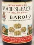 1966年 マルケージ ディ バローロ MARCHESI DI BAROLO  MARCHESI DI BAROLO