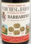 1964年 バルバレスコ BARBARESCO MARCHESI DI BAROLO