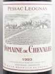 1993年 ドメーヌ ド シュヴァリエ DOMAINE DE CHEVALIER