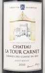 2010年 シャトー ラ トゥール カルネ CHATEAU LA TOUR CARNET