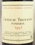 1993年 シャトー トロタノワ CHATEAU TROTANOY