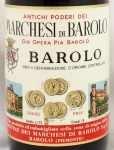 1965年 マルケージ ディ バローロ MARCHESI DI BAROLO  MARCHESI DI BAROLO