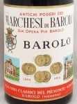 1953年 マルケージ ディ バローロ MARCHESI DI BAROLO  MARCHESI DI BAROLO