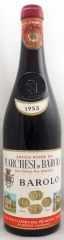1953年 マルケージ ディ バローロ(赤ワイン)