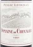 1991年 ドメーヌ ド シュヴァリエ DOMAINE DE CHEVALIER
