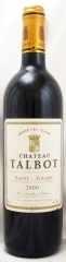2000年 シャトー タルボ(赤ワイン)