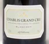 2004年 シャブリ グラン クリュ ブランショ CHABLIS GRAND CRU BLANCHOTS LA CHABLISIENNE
