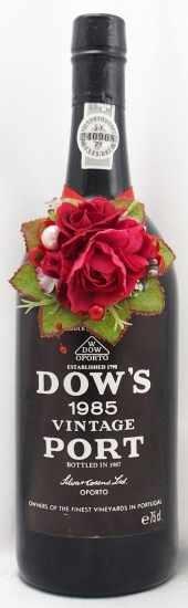1985年 ダウズ ヴィンテージ ポート DOW'S VINTAGE PORT SILVA & COSENS
