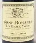 2008年 ヴォーヌ ロマネ プルミエ クリュ レ ボーモン VOSNE ROMANEE 1ER CRU LES BEAUX MONTS LOUIS JADOT