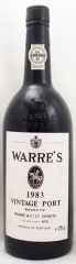 1983年 ワレ ヴィンテージ ポート(赤ワイン)