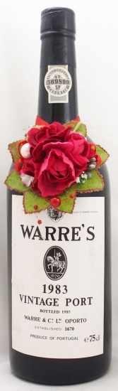 1983年 ワレ ヴィンテージ ポート WARRE VINTAGE PORT WARRE