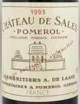1993年 シャトー ド サル CHATEAU DE SALES