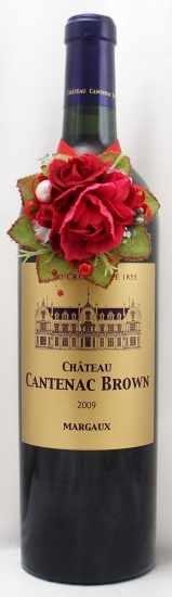 2009年 シャトー カントナック ブラウン  CHATEAU CANTENAC BROWN