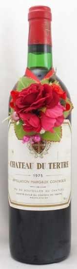 1975年 シャトー デュ テルトル CHATEAU DU TERTRE