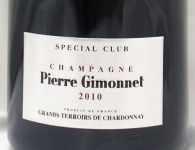 2010年 スペシャル クラブ ミレジメ グラン テロワール ド シャルドネ SPECIAL CLUB MILLESIME GRANDS TERROIRS DE CHARDONNAY PIERRE GIMONNET