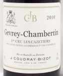 2010年 ジュヴレ シャンベルタン プルミエ クリュ レ カズティエ GEVREY CHAMBERTIN 1ER CRU LES CAZETIERS COUDRAY BIZOT