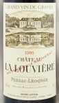 1995年 シャトー ラ ルーヴィエール ルージュ CHATEAU LA LOUVIERE ROUGE