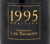 1995年 エリタージュ ブリュット ミレジメ HERITAGE BRUT MILLESIME J DE TELMONT