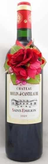 2009年 シャトー ムーラン ド カントローブ CHATEAU MOULIN DE CANTELAUBE