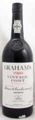 1980年 グラハム ヴィンテージ ポート(赤ワイン)