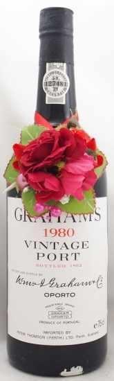 1980年 グラハム ヴィンテージ ポート GRAHAM VINTAGE PORT W&J GRAHAM