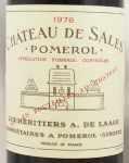 1976年 シャトー ド サル CHATEAU DE SALES